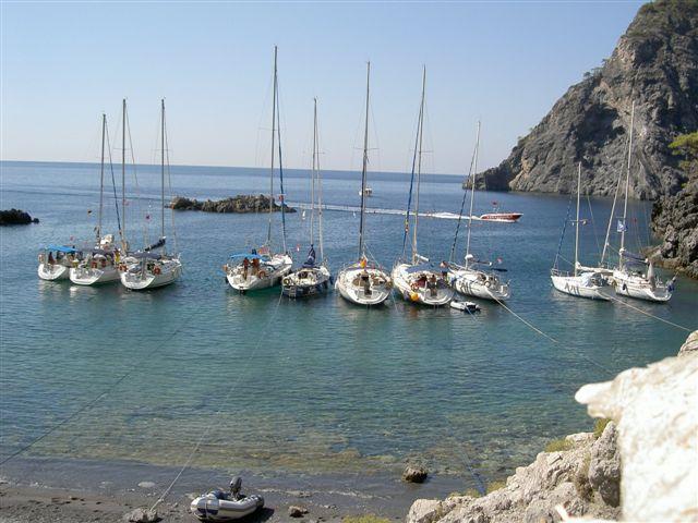 Ankeren voor een mooi strand in Sardinië